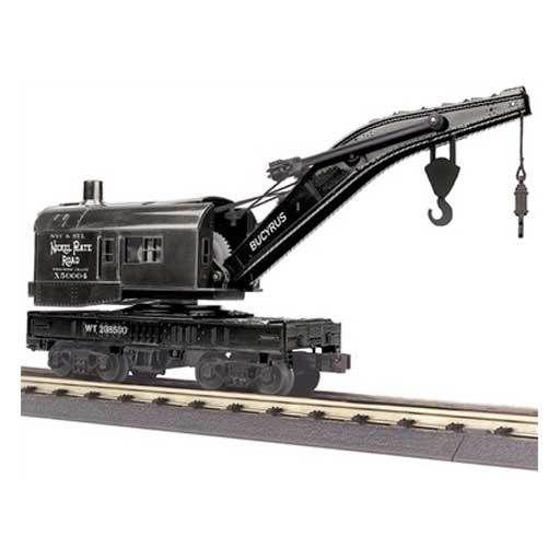 MTH - RailKing 3079436 - CRANE CAR NICKEL PLATE ROAD