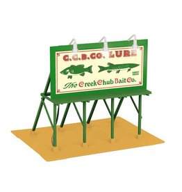 MTH - RailKing 3090361 - BILLBOARD CREEK CHUB BAIT CO