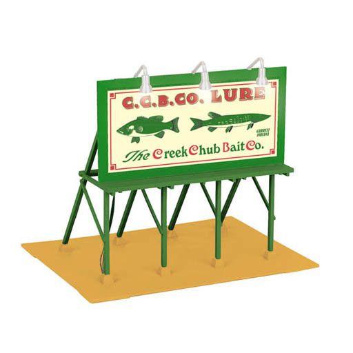 MTH 3090361 - BILLBOARD CREEK CHUB BAIT CO