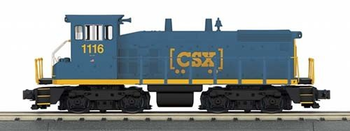 MTH - RailKing 30-20327-1 - 	CSX SW1500 Diesel Switcher w/Proto-Sound 3.0