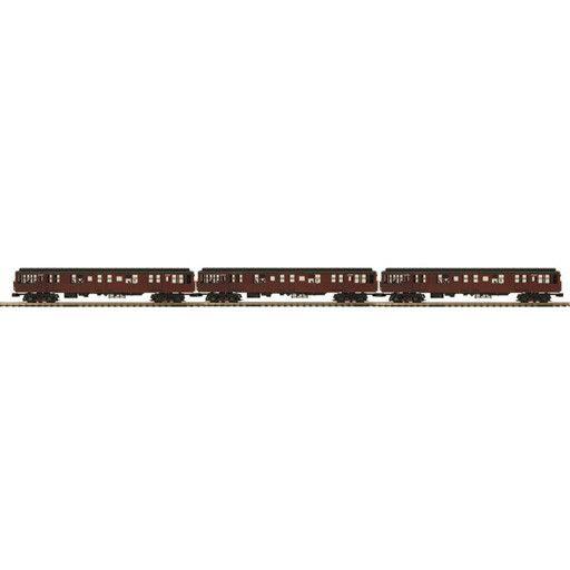 MTH - Premier 2026753 - BMT 2500 Series 3-Car Subway Se