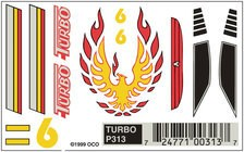 313	 - 	PINECAR DECAL TURBO