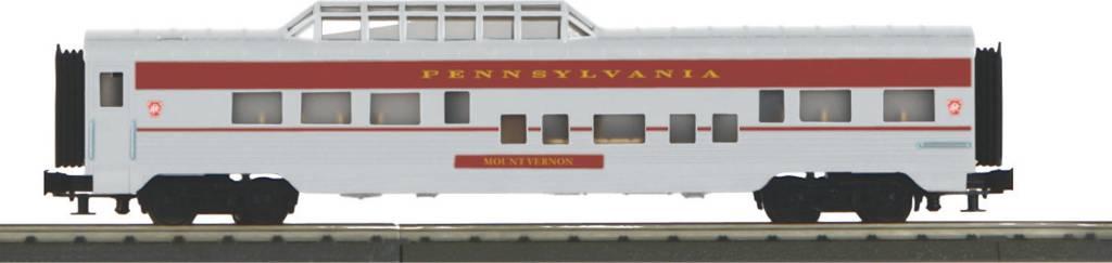 MTH - RailKing 30-67912 PRR 60' Streamlined Vista Dome Car