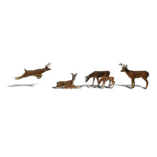 Woodland Scenics 2738 - DEER Figurines
