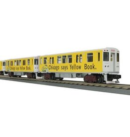 MTH 3024800	 - 	SUBWAY CHICAGO YELLOW BOOK