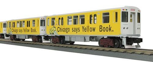 MTH - RailKing 3024800 - SUBWAY CHICAGO YELLOW BOOK