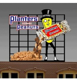 Miller Engineering 7061	 - 	PLANTERS PEANUT SIGN