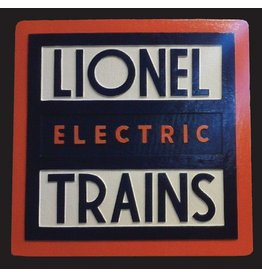 CUSTOM 26277	 - 	LIONEL ELECTRIC TRAINS - Emblem Plate