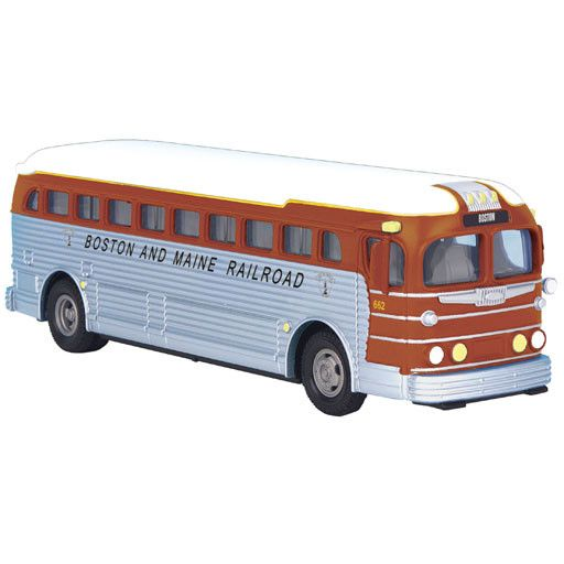 MTH - RailKing 3050069	 - 	BOSTON & MAINE BUS