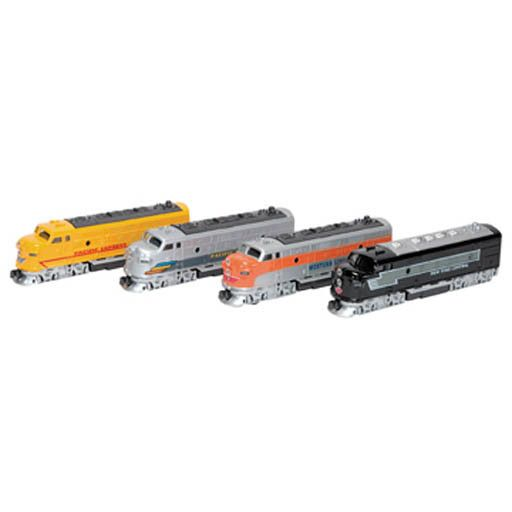 Schylling 2084	 - 	DIE CAST FRICTION DIESEL LOCOMOTIVES