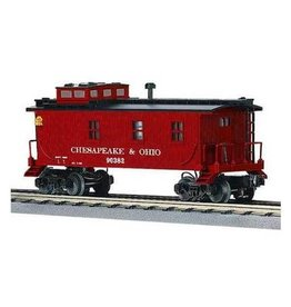 MTH - RailKing 308502	 - 	Die-Cast Woodsided Caboose