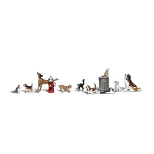 Woodland Scenics 2725 - DOGS & CATS