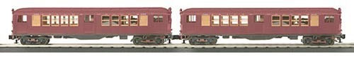 MTH - RailKing 3024483	 - 	LO-V 2-Car Subway RED 2 CAR