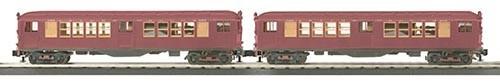 MTH - RailKing 3024483 - LO-V 2-Car Subway RED 2 CAR