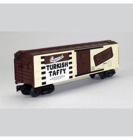 MTH - RailKing 3074128 - BOX CAR BONOMO TURKISH TAFFY CHOCOLATE