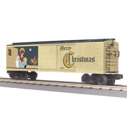 MTH - RailKing 3074257	 - 	BOX CAR CHRISTMAS 2005