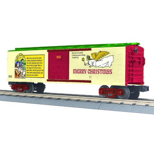 MTH 3074604	 - 	BOX CAR CHRISTMAS 2010