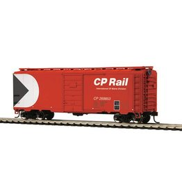MTH - HO 8574125	 - 	BOX CAR CP RAIL 40' PS1- HO