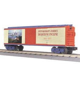 MTH - RailKing 3074190 - BOX CAR DUQUESNE INCLINE