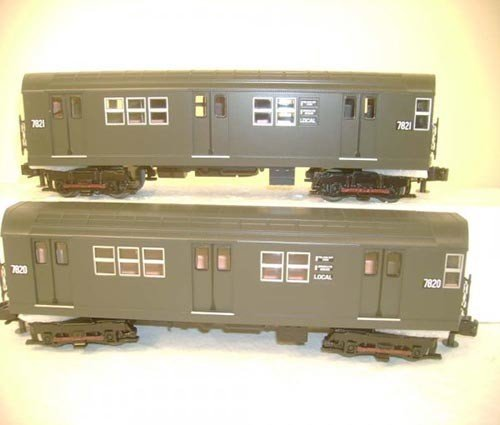 3024461	 - 	R-26 4-Car Subway Set w/Proto-S