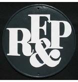 CUSTOM 26270 - R.F.& P RailRoad Emblem Plate - COLOR VARIATIONS