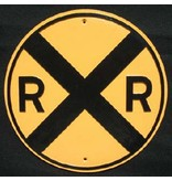 CUSTOM 26216 - R.R. CROSSING Plate