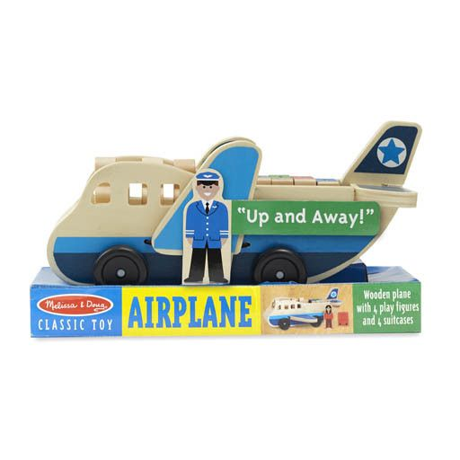Melissa & Doug 2038	 - 	M&D AIRPLANE