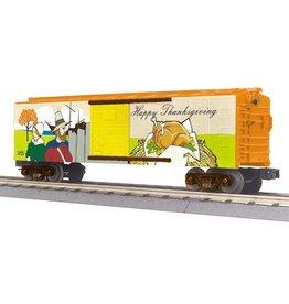 MTH - RailKing 3074655 - Box Car Happy Thanksgiving