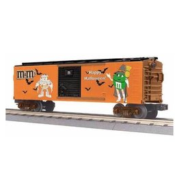 MTH - RailKing 3074638 - BOX CAR M&M'S HALLOWEEN