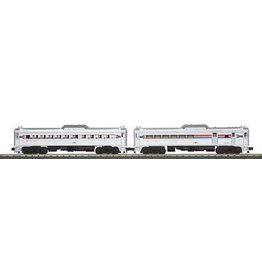MTH - RailKing 30203011	 - 	RDC AMTRAK BUDD CAR SET 3.0