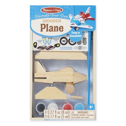 Melissa & Doug WOODEN DYO PAINT - AIRPLANE