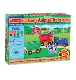 Melissa & Doug 2132 - M&D FARM ANIMAL TRAIN SET