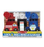 Melissa & Doug 2065 - M&D LOCK & ROLL RESCUE GARAGE