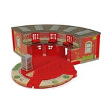 Melissa & Doug 2118	 - 	M&D ROUNDHOUSE & TURNTABLE SET