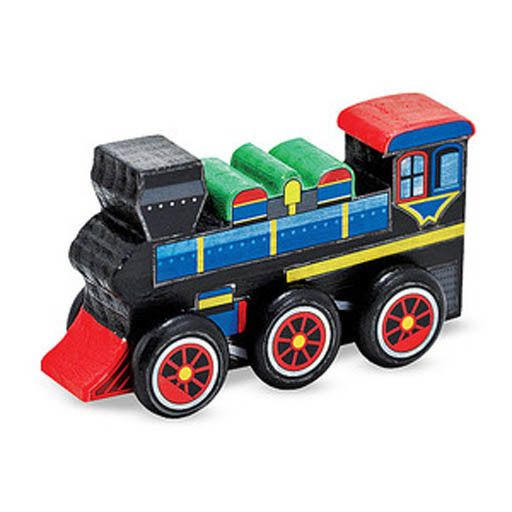 Melissa & Doug 2066	 - 	M&D WOODEN DYO PAINT TRAIN