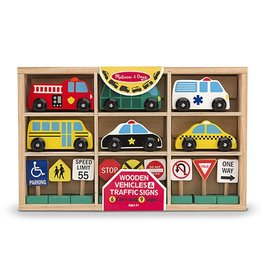 Melissa & Doug WOODEN V&T SIGNS