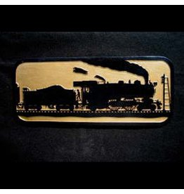 CUSTOM 26210	 - 	The Old Timer - Steam Locomotive Silhouette