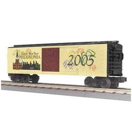 MTH - RailKing 3074181 - BOX CAR NEW YEARS 2005