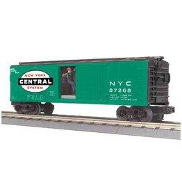 MTH - RailKing 3079378 - BOX CAR NYC W/SIGNAL MAN