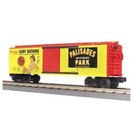 MTH - RailKing 3074124	 - 	BOX CAR PALISADES BATHING