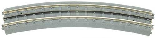 40-1054 - RealTrax - O54 Curved Track Sec