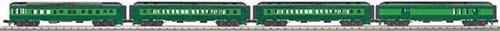 MTH - RailKing 3069194 - MADISON SOUTHERN 4CAR 60' PASS