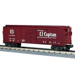 MTH - RailKing 307431	 - 	BOX CAR SANTA FE EL CAPITAN