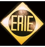 CUSTOM 26264 - ERIE LACKAWANNA - Railroad Emblem Builder Plate - COLOR VARIATIONS