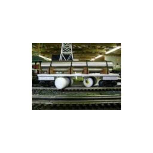 R&L Lines 100000000 - TRACK CLEANING CAR O GAUGE
