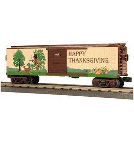 MTH - RailKing 3074495 - BOX CAR THANKSGIVING 2008