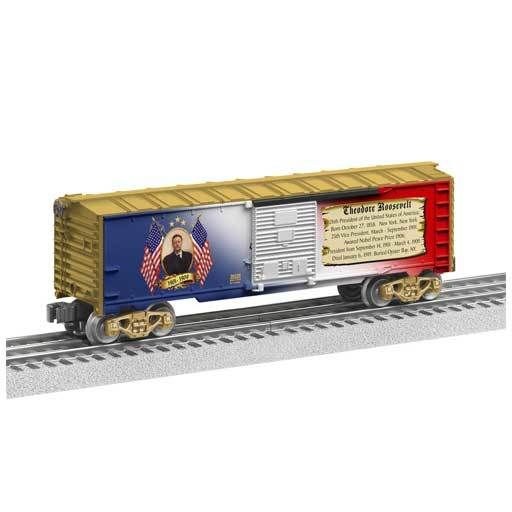 Lionel 6-39339 - BOX CAR THEODORE ROOSEVELT