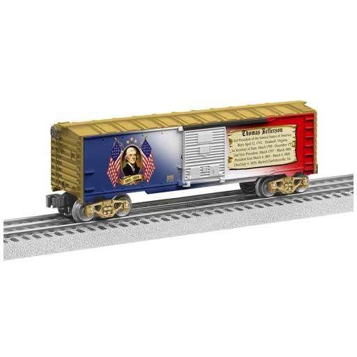 Lionel 6-39340 - BOX CAR THOMAS JEFFERSON