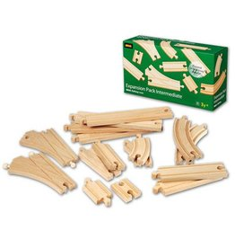 BRIO BRIO - EXPANSION PACK INTERMEDIATE - Wooden Track