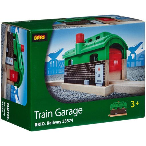 Garage Brio brio brio -train garage - bussinger trains